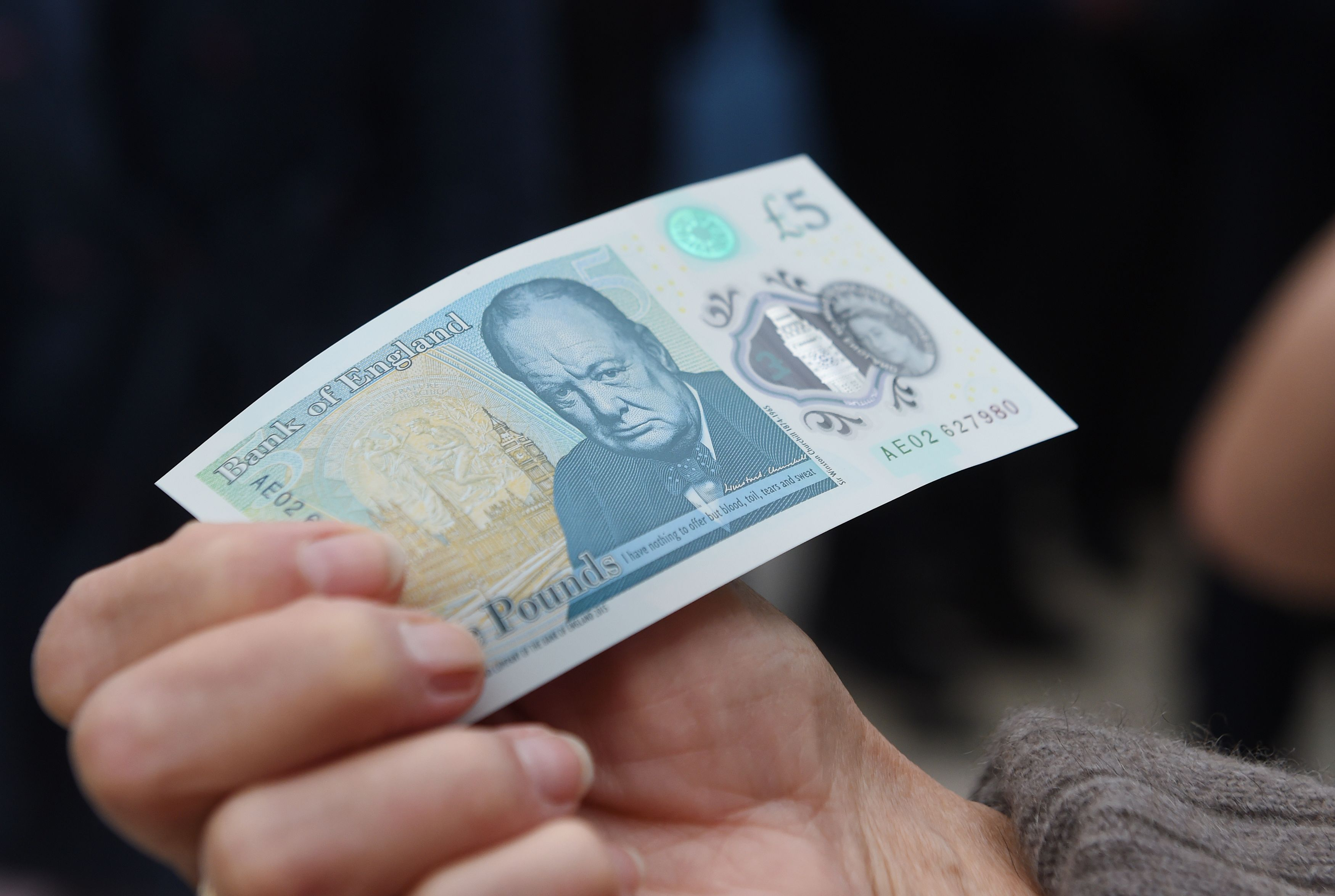 Heres Everything You Need To Know About The New £5 Note GettyImages 537576940