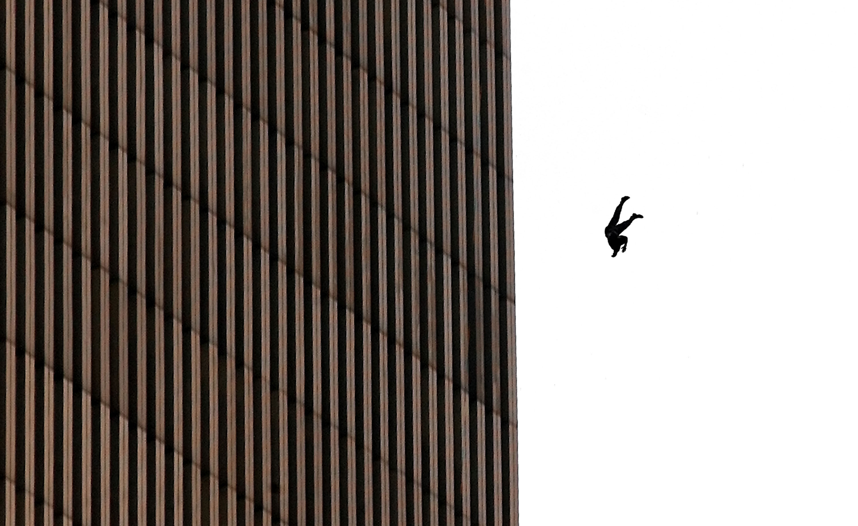 Mystery Behind The Man Who Fell From The Twin Towers On 9/11 GettyImages 678240