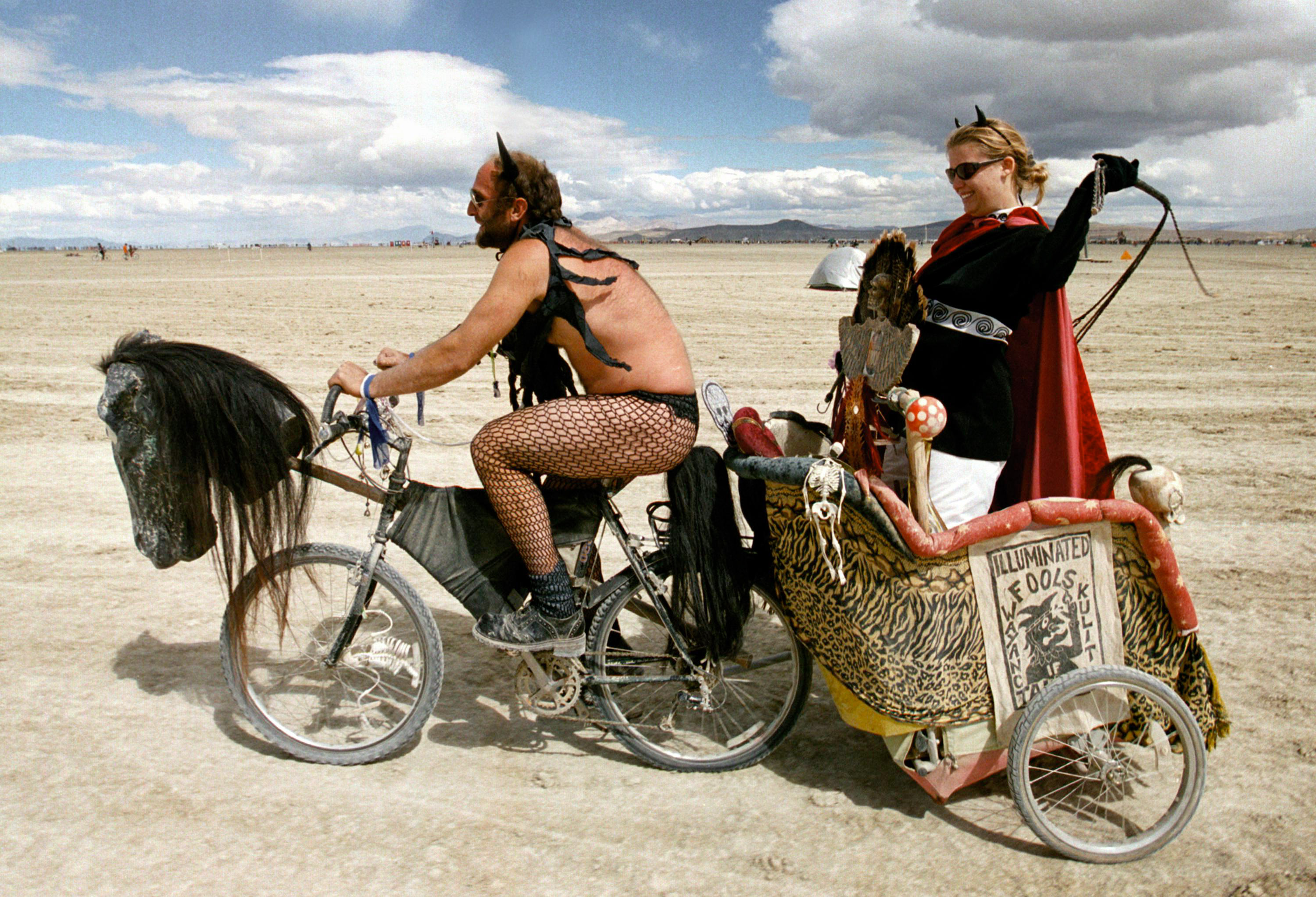 People Did Some Weird Sh*t At Burning Man Festival This Year GettyImages 72307982