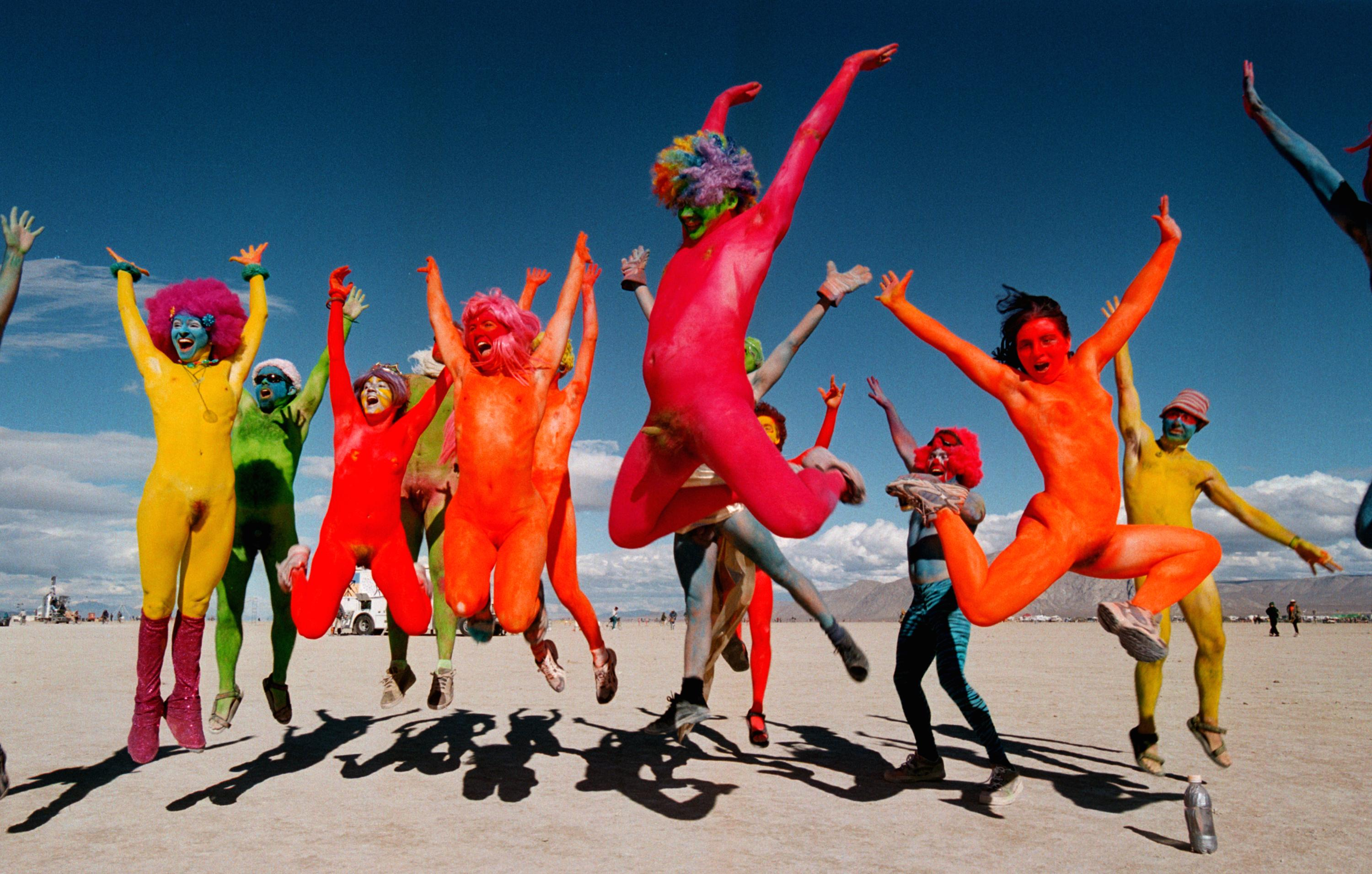 People Did Some Weird Sh*t At Burning Man Festival This Year GettyImages 72501340