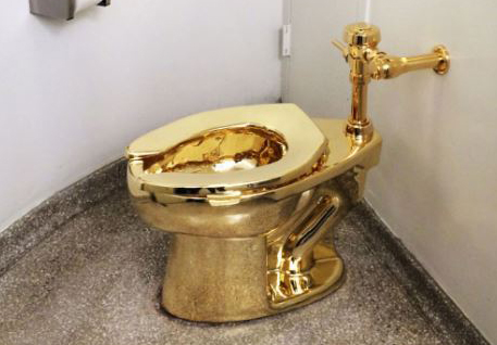 You Can Now Take A Sh*t In A Solid Gold Toilet
