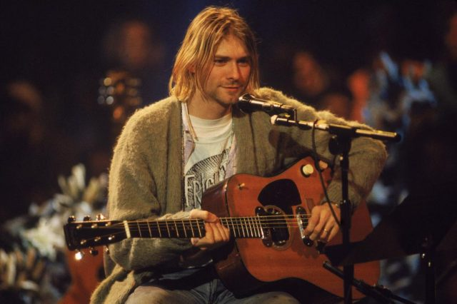 Celebrities That Faked Their Deaths According To Conspiracy Theorists Kurt cobain unplugged mtv 1993 640x426