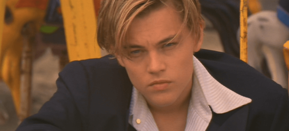 This Leonardo DiCaprio Lookalike Claims Hes Hotter Than Real Leo Leonardo DiCaprio as Romeo Montegue in Baz Luhrmanns Romeo Juliet 2