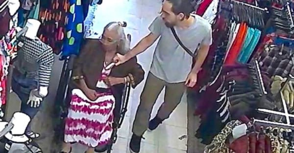 Scumbag Who Stole Money From Old Ladys Bra Gets What He Deserves Maria Vasquez victim of theft1 850x4441 600x313