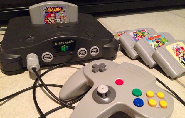 Rumours Suggest Nintendo NX Will Go Back To Using Cartridges N64