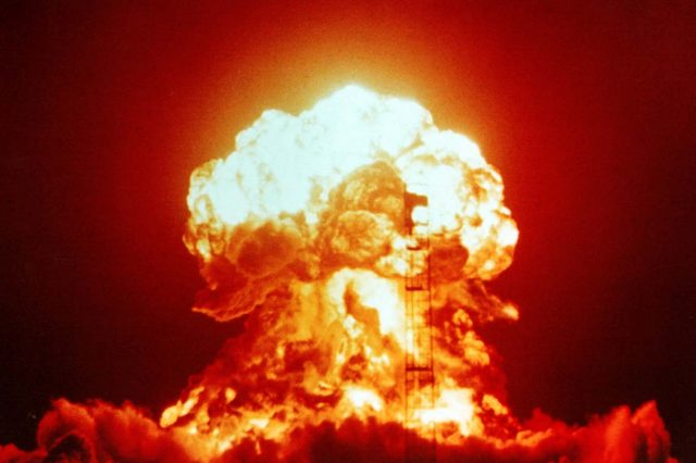 American Spies Fear Putin Building Nuclear Arsenal For World War Three Operation Upshot Knothole   Badger 001 640x426