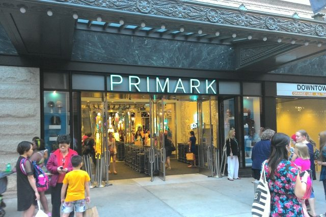 Woman Believes She Found Coded Cry For Help In Primark Underwear PRIMARK store Boston Massachusetts 09172015 640x426