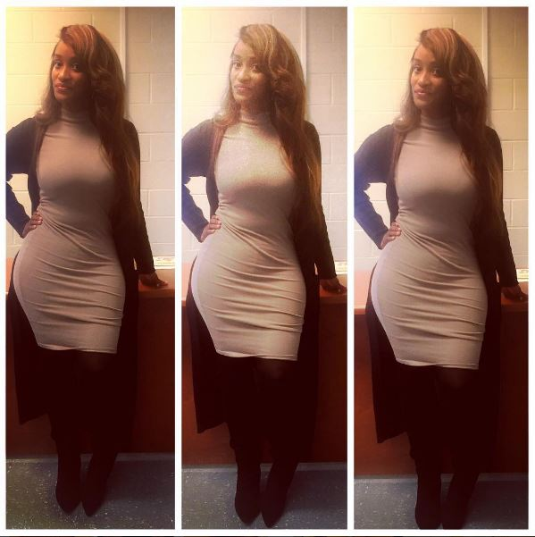 People Think This Teacher Dresses Too Sexy For School ParisMonroe2