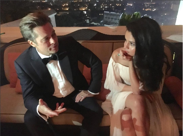 Angelina Jolie Furious Over This Photo Of Brad And Selena Gomez Selena