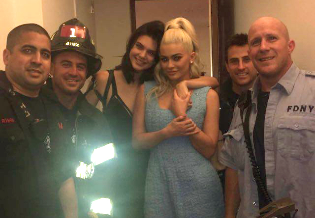 Kylie And Kendall Jenner Get Stuck In Lift, Unfortunately Get Released By FDNY SnapFDNYJenner