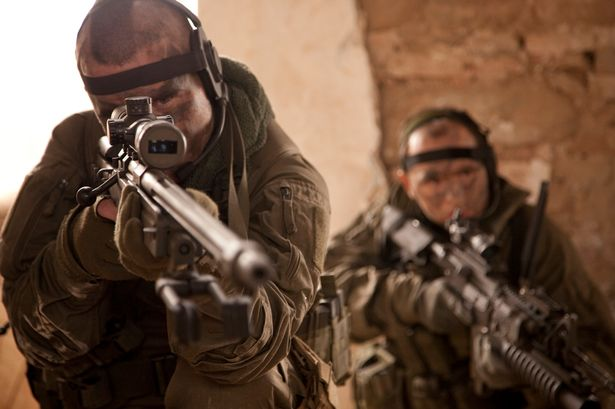 Hero Sniper Kills Four ISIS Terrorists With One Bullet To Save Hostages Special Forces Sniper and Spotter