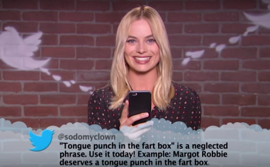 Margot Robbie And Other Celebrities Read Mean Tweets And Theyre Hilarious Tweets2