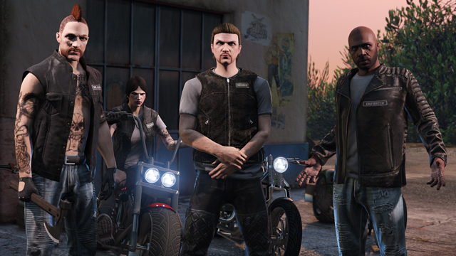 GTA Online Brings Biker Gangs In Cool New Update actual 1474978466