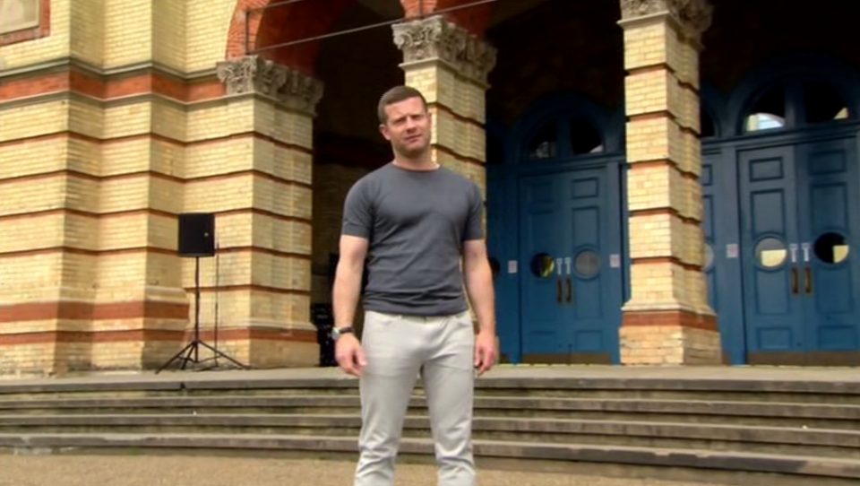 Dermot OLeary Accidentally Showed His Dick On X Factor dermot o leary x factor