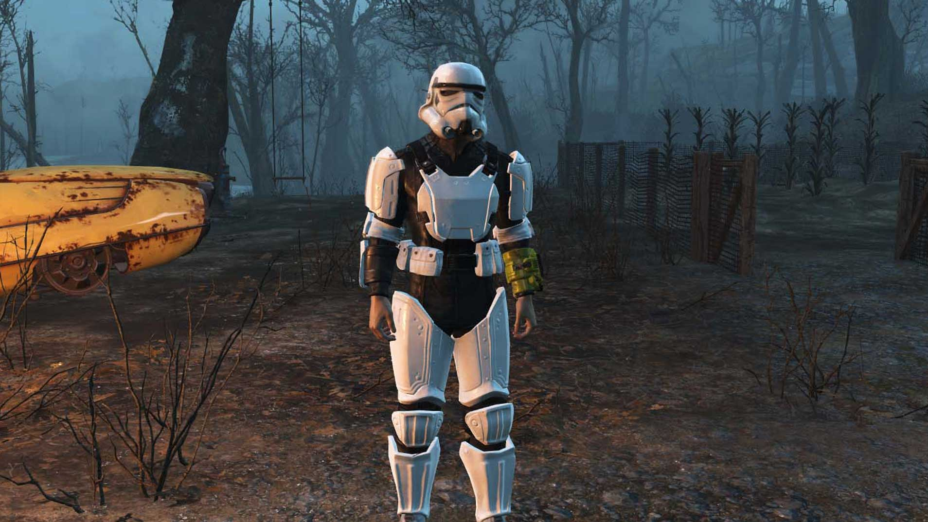Bethesda Game Mods No Longer Coming To PS4 fallout 4 mods star wars stormtrooper