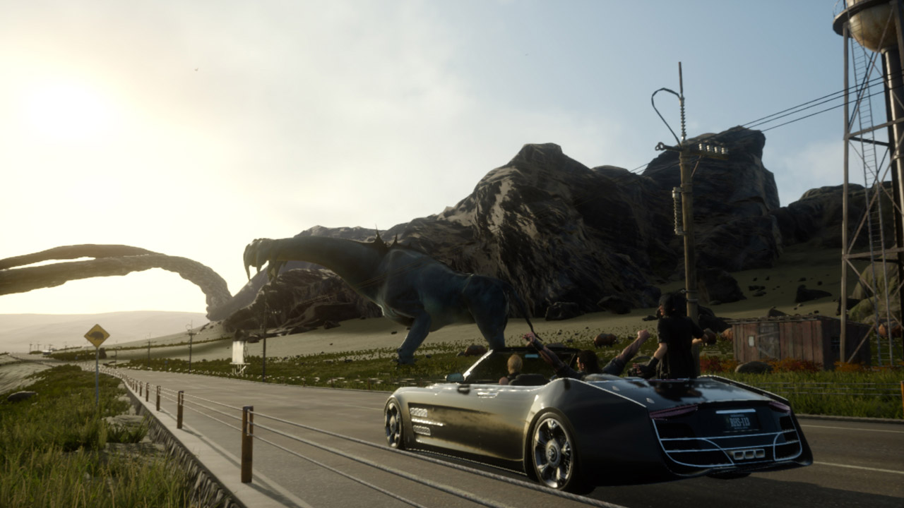 Final Fantasy 15s Stunning New Trailer Highlights Some Incredible Environments ffxv car ride