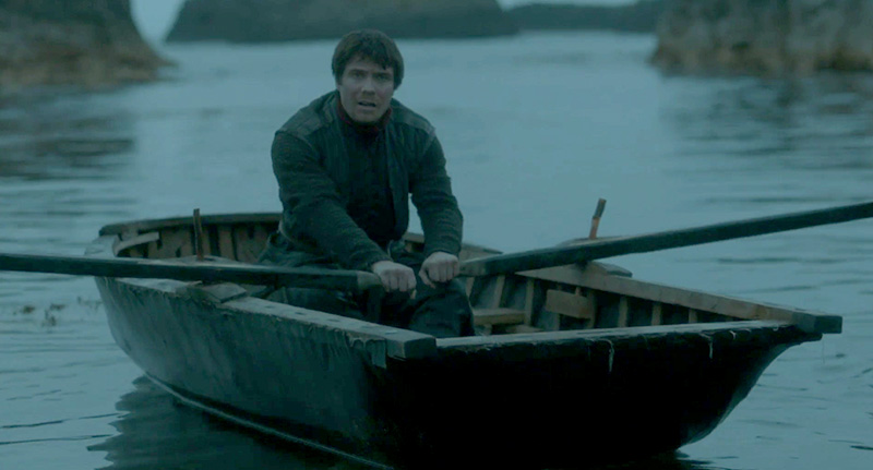 Photo May Prove Gendry Is Rowing Back Into Game Of Thrones gendry fb
