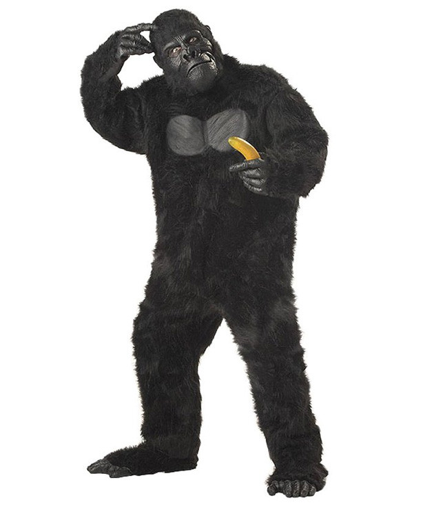 Theres A Sexy Harambe Costume And Its Already Won Halloween gorilla costume 1