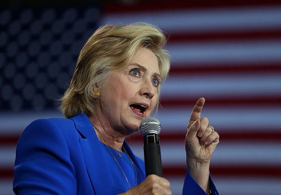 Mysterious Piece Of Metal Dropped By Hillary Clinton Sparks Strange Conspiracies hilary featured
