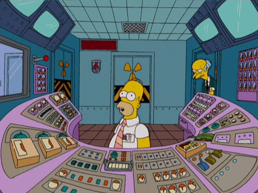 This Is How Much Homer Simpson Actually Earns homer workspace