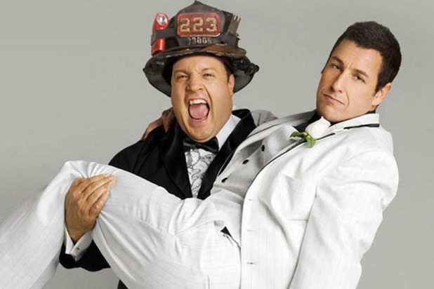 When Exactly Did Adam Sandler Give Up On Making Funny Films? i now pronounce you chuck and larry