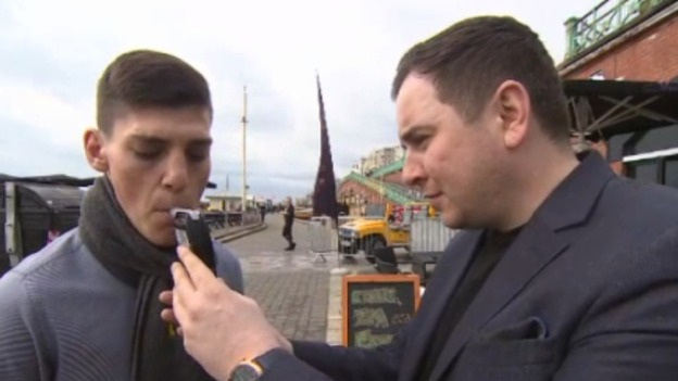 Bouncers With Breathalysers Wage War On Pre Drinking image update img