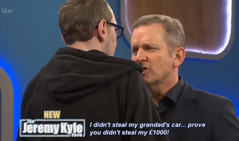 Jeremy Kyle Guest Calls Him A C*nt Then Smashes TV In Angry Rampage kyle3
