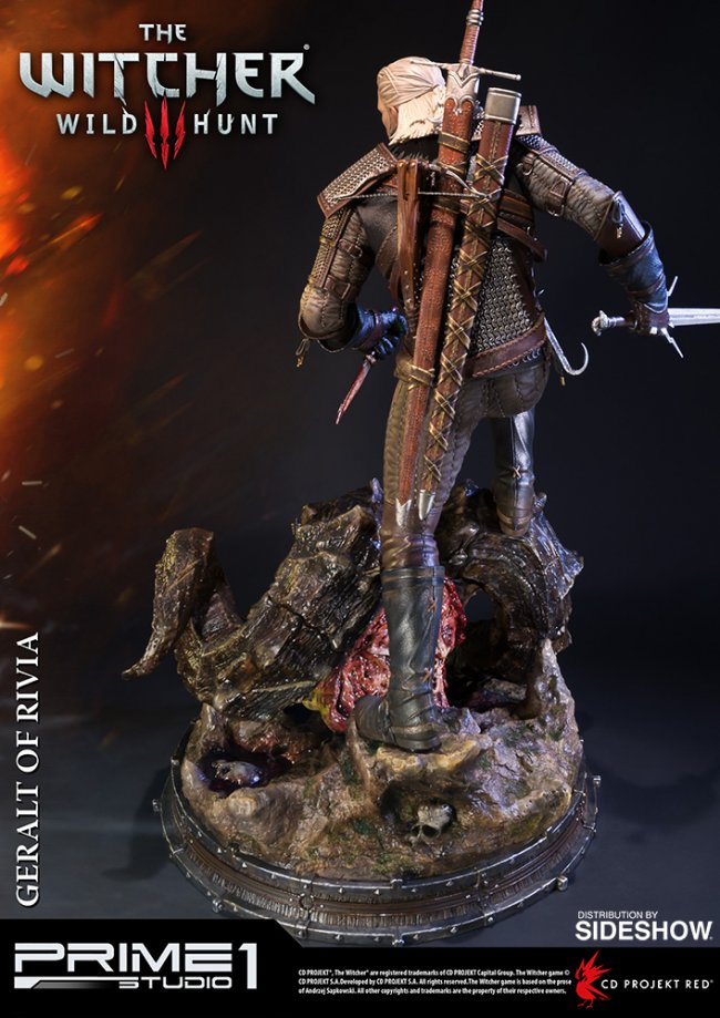 Awesome Witcher 3 Statue Features Lifelike Skin limiterad dyrursnygg 1866363 650x