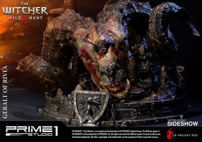 Awesome Witcher 3 Statue Features Lifelike Skin limiterad dyrursnygg 1866393 650x