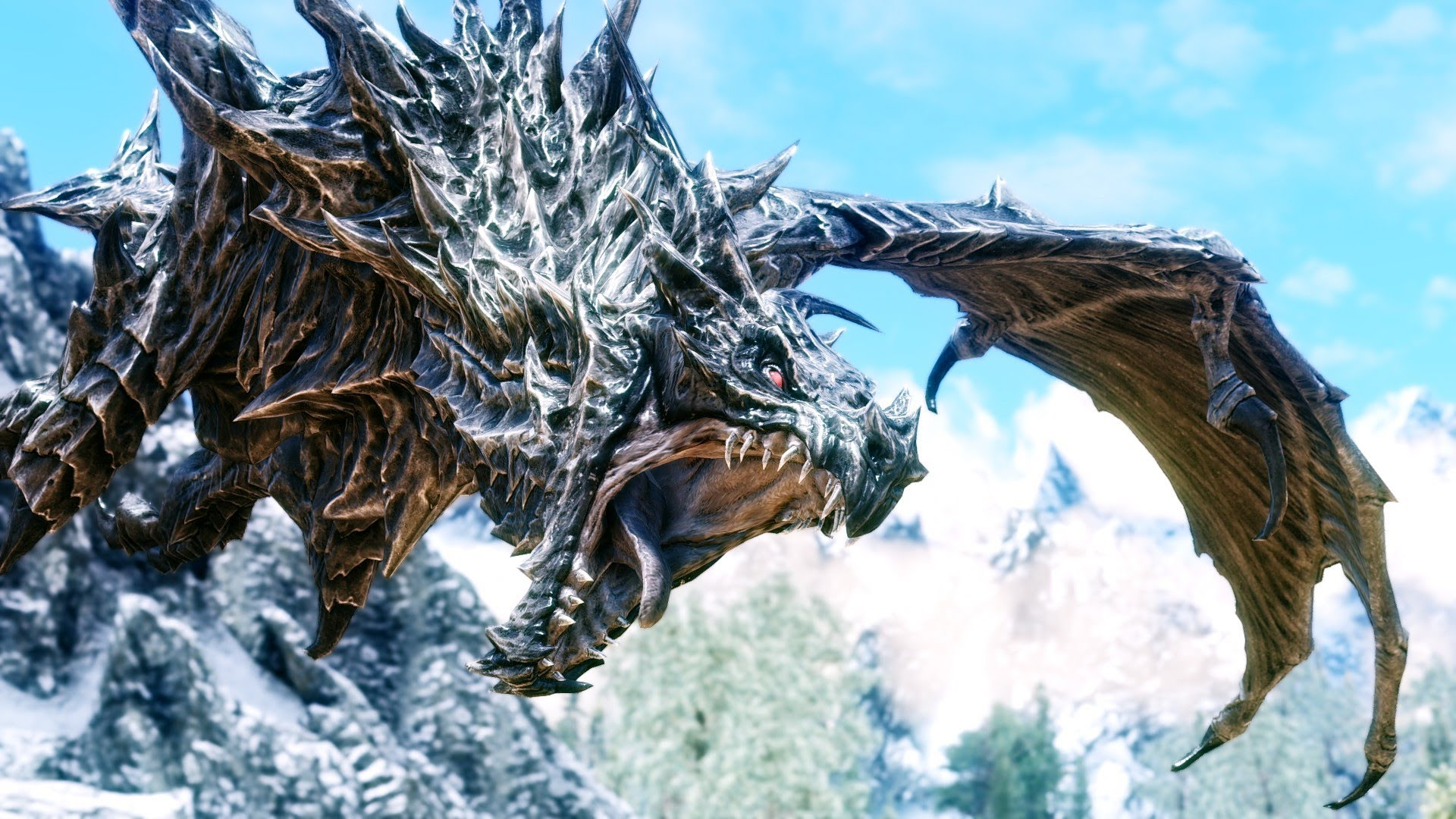 Skyrim Dragon: Skyrim Hidden Bosses That You Probably Didn't Know About