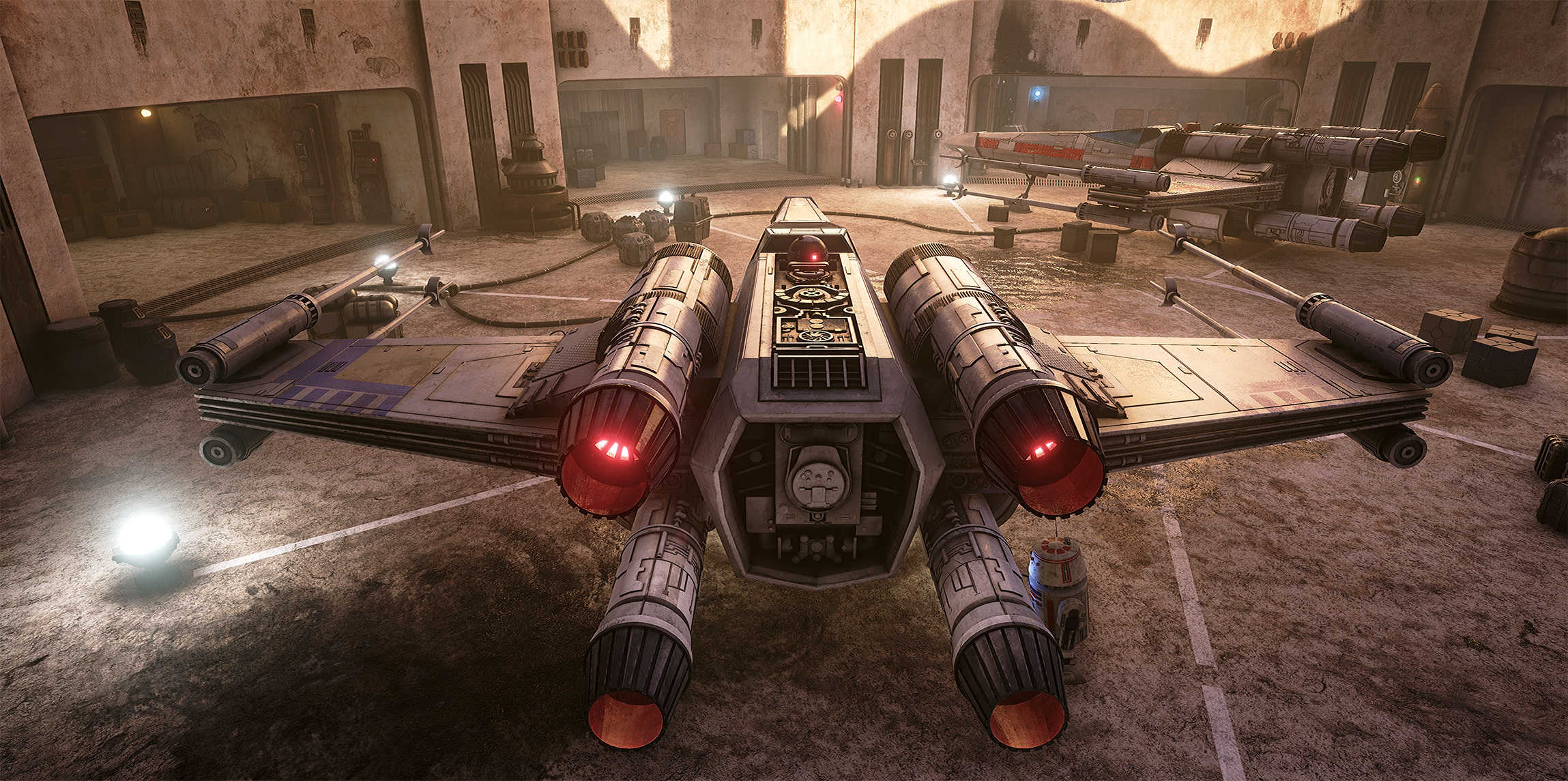 Star Wars Looks Absolutely Stunning On Unreal Engine 4 pM5jV5q