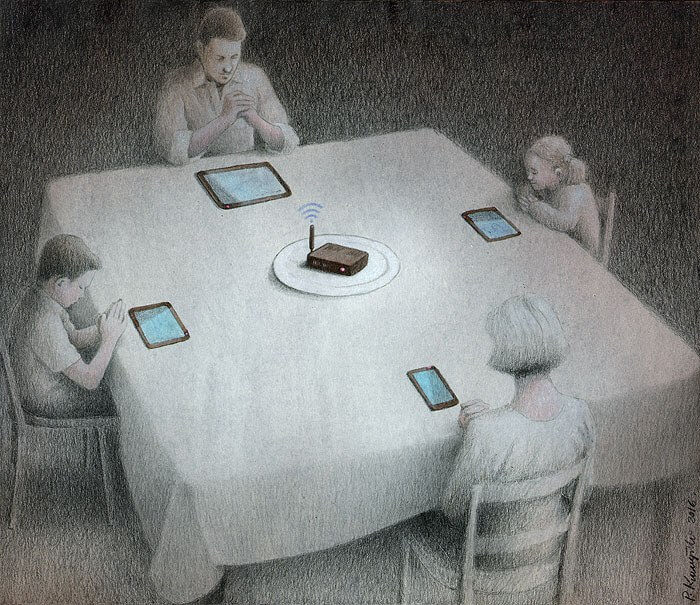 These Incredible Illustrations Show Everything Thats Wrong In The World pawel1