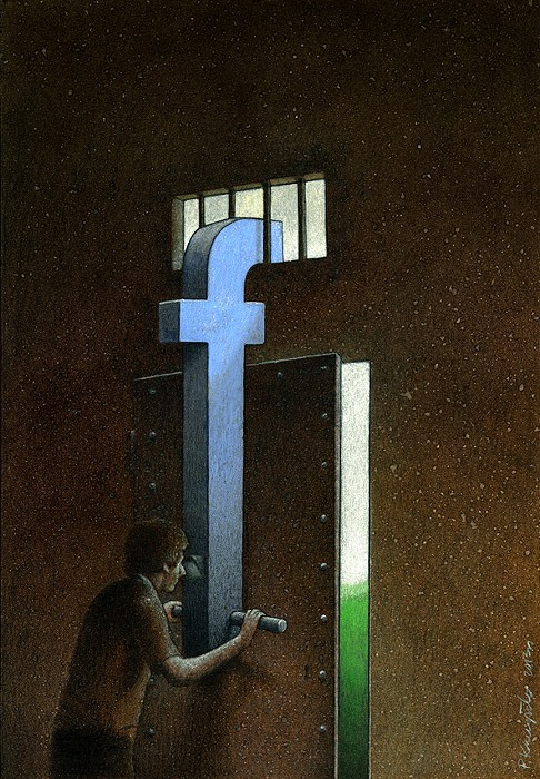 These Incredible Illustrations Show Everything Thats Wrong In The World pawel10