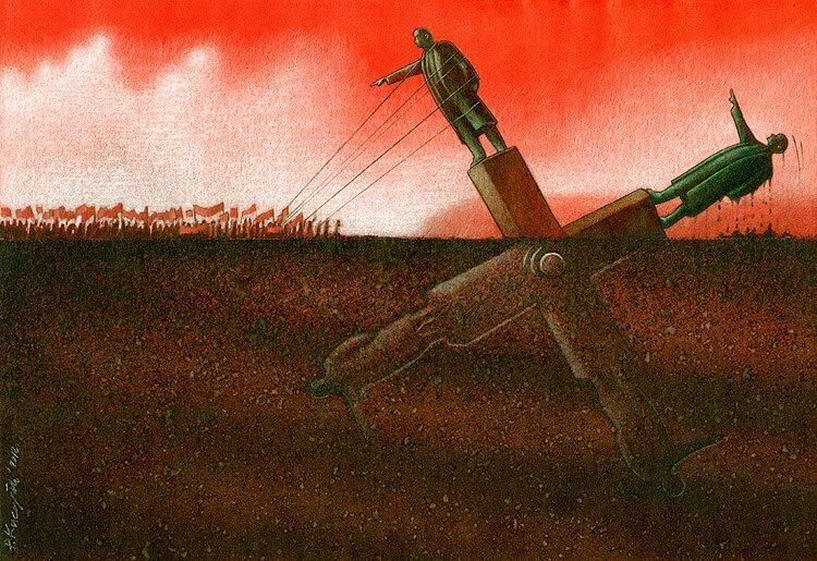 These Incredible Illustrations Show Everything Thats Wrong In The World pawel17