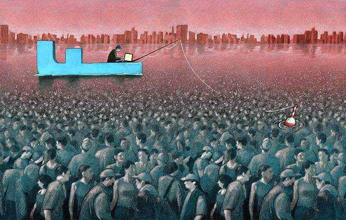 These Incredible Illustrations Show Everything Thats Wrong In The World pawel2