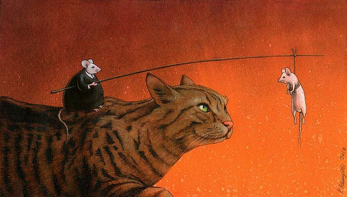 These Incredible Illustrations Show Everything Thats Wrong In The World pawel8