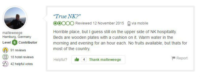 These TripAdvisor Reviews Show How Miserable North Korea Really Is pic 1 2