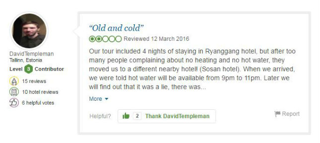 These TripAdvisor Reviews Show How Miserable North Korea Really Is pic 3 3