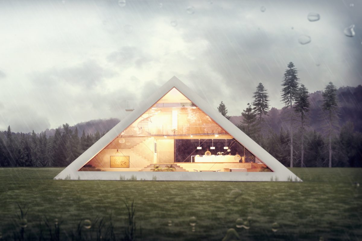 Someone Designed A Perfect Pyramid House And We Want It pyramidhouse 1200x800