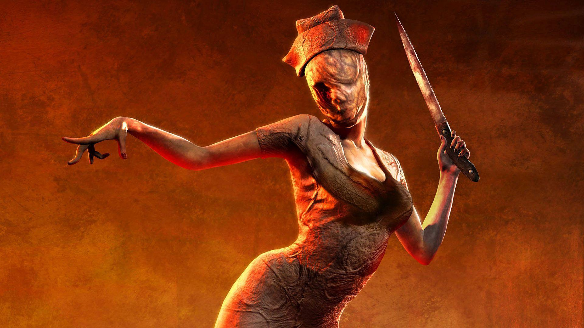 Cancelled Silent Hill Game Footage Surfaces Online silent hill creepy nurse high