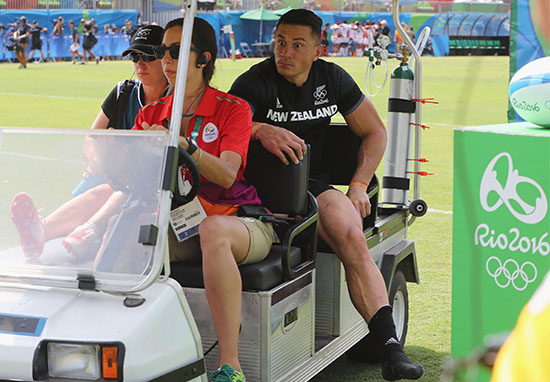 Sonny Bill Williams Has Ingenious Way To Train Despite Wearing Soft Cast sonny1
