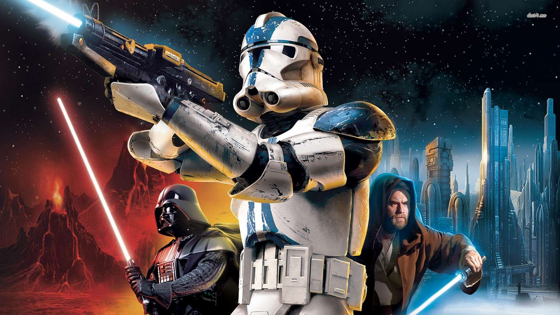 Footage From Scrapped Star Wars Battlefront 3 Emerges star wars battlefront ii 1920x1080 game wallpaper