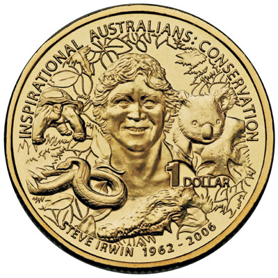 Theres A Campaign To Get Steve Irwins Face On Money steve irwin coin