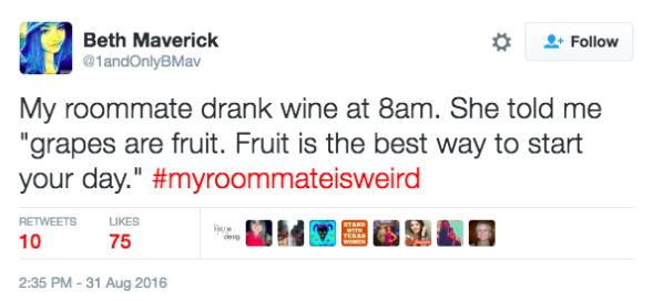 Twitter Users Share Their Weirdest And Wackiest Roommate Stories twitter 13