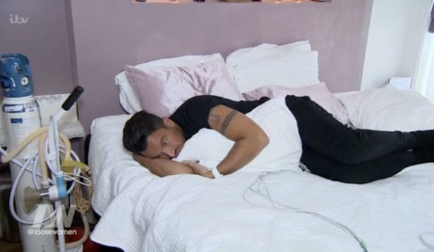 Peter Andre Screams In Agony As He Gives Birth On TV 11233UNILAD imageoptim andre3