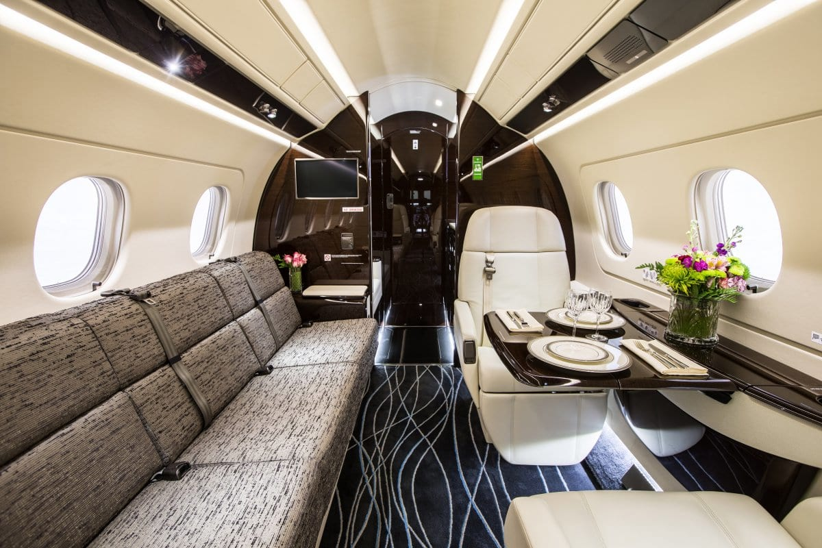 Jackie Chan Has An Absolutely Amazing New Private Jet 16707UNILAD imageoptim and youll find a cavernous interior its also an infinitely customizable 1