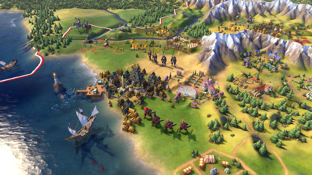 Your Computer Probably Can't Even Load This Huge Civ VI Map