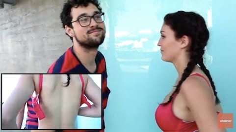 Video Challenge Discovers How Good Men Are At Unhooking Bras 2062UNILAD imageoptim bra5