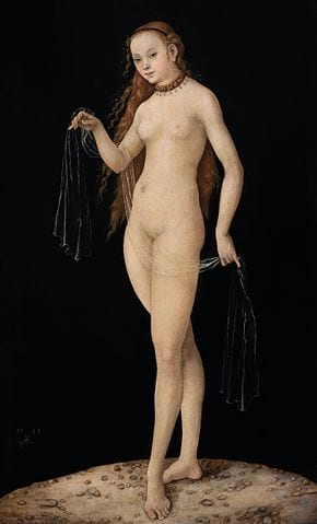 This Is How Easy It Is To Trick Experts And Make Millions From Fake Art 21374UNILAD imageoptim Venus by Lucas Cranach the Elder 1531. Oil on panel Wikimedia Colnaghi
