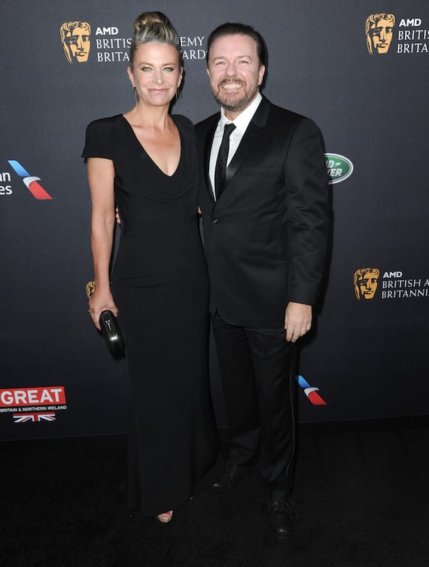Ricky Gervais Makes Hilarious Drunken Speech At The BAFTAs 25711UNILAD imageoptim PA 29038119
